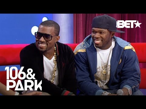 #TBT 50 Cent & Kanye West Go Head To Head On Who Has The Best Album  | 106 & Park