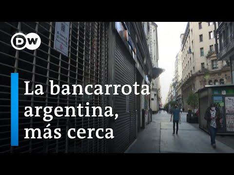 Argentina se acerca a una nueva bancarrota