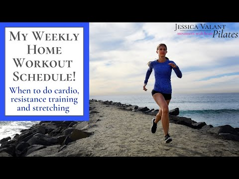 My Workout Schedule - My Weekly Home Workout Plan That Anyone Can Follow!