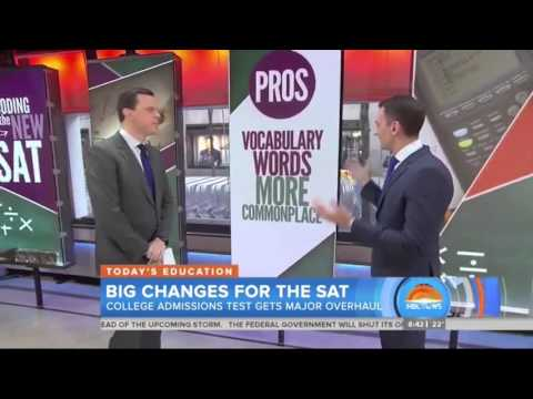 "NBC ""TODAY"": Tips for the SAT"