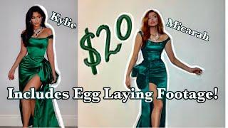 I Made Kylie's Christmas Dress for $20!