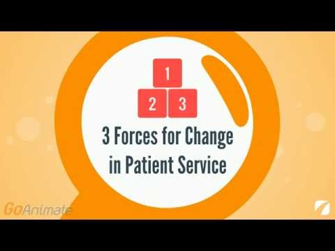 3 Forces for Change in Patient Service