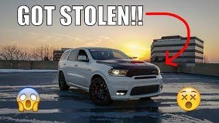 2018 Dodge Durango SRT STOLEN @ Car Show! 1000hp Hellcat Races Scat Pack!