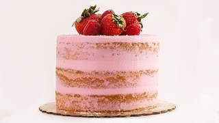 "The ""Cake Boss"" Shows Us ~Exactly~ How to Ice a Naked Cake 