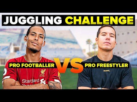 Virgil DESTROYS Pro Freestyler | Juggling challenge