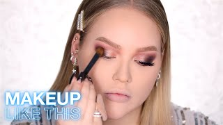 NEW FROM MAYBELLINE HOLIDAY MAKEUP TUTORIAL FT. NIKKIETUTORIALS | MAYBELLINE NEW YORK