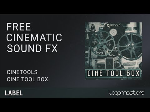FREE Cinetools Cinematic SFX Sample Pack, Loops and Sounds with Loopcloud