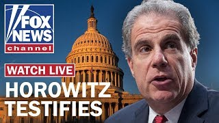 DOJ Inspector General Horowitz testifies on FBI's conduct in Russia probe