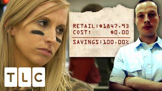Contestant Gets 100% Worth Of Savings On A $1,800 Shopping Trip | Extreme Couponers: All Stars