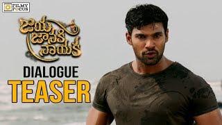 Jaya Janaki Nayaka Movie Block-buster Teasers- Bellamkonda..