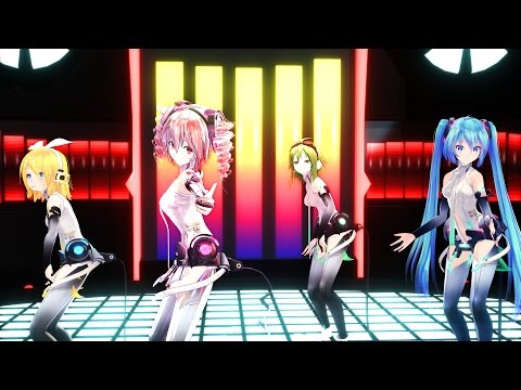 360°MMD 3D Sweet Devil Colate Remix by Sky Yuki