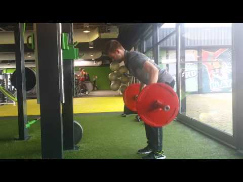 Workout of the Week Bent over Row