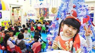 Liên Hoan Giáng Sinh Ở Lớp Học Bé Bún ♥ CreativeKids ♥