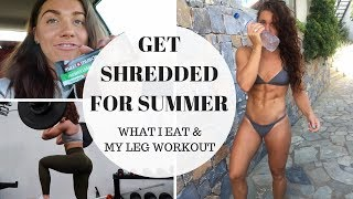 HOW TO GET SHREDDED FOR SUMMER | ep.1