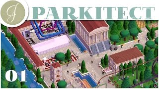 Parkitect ~ Theme Park Game ~ Trailer Park Wonderland ~ Let's Play ~ Steam Early Access ~ Part 1