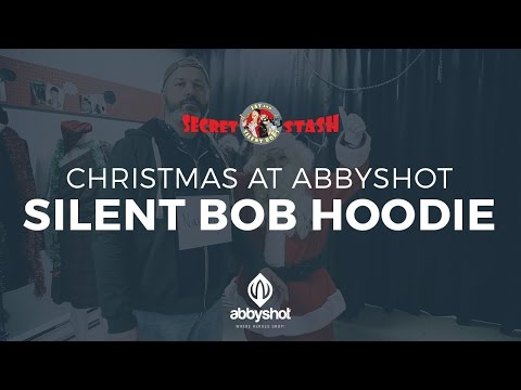 Christmas at AbbyShot - Silent Bob Hoodie