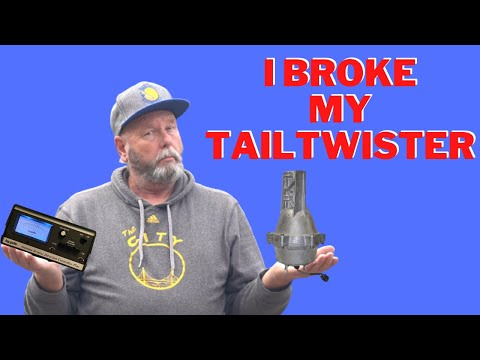 I broke my hy-gain Tailtwister. Lets try and fix it!