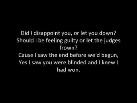 James Blunt - Goodbye My Lover (Lyrics)