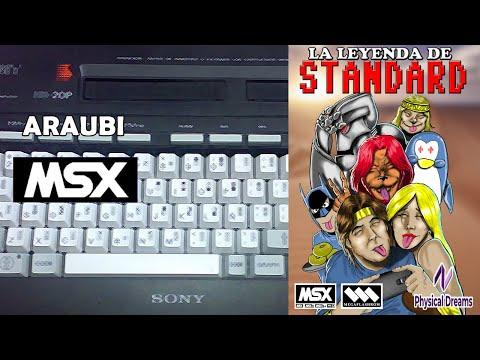 La Leyenda de Standard (Physical Dreams, 2019) MSX [781] Walkthrough Comentado