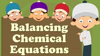 Balancing Chemical Equations for beginners | #aumsum