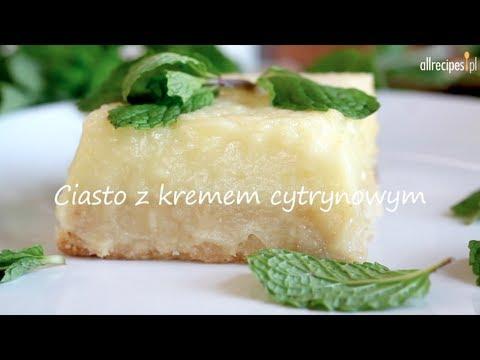 Jak zrobić ciasto z kremem cytrynowym