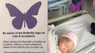 See a 'Purple Butterfly' Sign on Baby's Crib? Don't Dare Ask About it From Parents