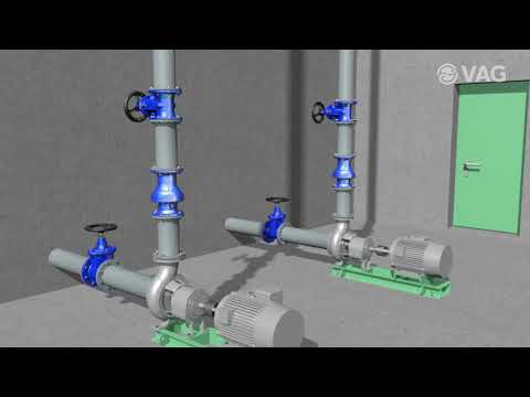 Animation TOP STOP Non-return Valve