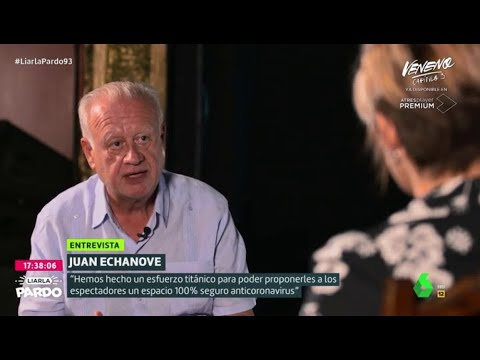 """La dura crítica de Juan Echanove a los políticos: """"Este montaje es una mierda"""" - Liarla Pardo"""