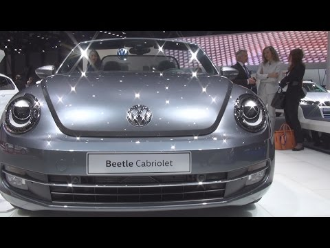 Volkswagen Beetle Cabriolet AllStar 1.2 TSI 105 hp (2016) Exterior and Interior in 3D