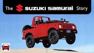 The Suzuki Jimny (aka Samurai) Story