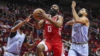 James Harden 57 Points! Capela Out 4-6 Weeks! 2018-19 NBA Season