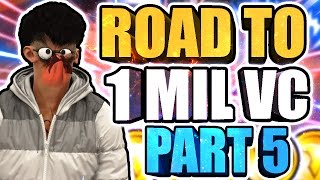 ROAD TO 1 MILLION VC AT HIGHROLLERS 2x • HANKY DA SNAGGER 1 MIL VC GRIND • RANDOMS CARRY ME LOL #5