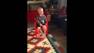 3 year old white boy speaks xhosa