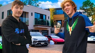 10 Richest YouTubers of 2020 (Logan Paul, MrBeast, PewDiePie, David Dobrik)
