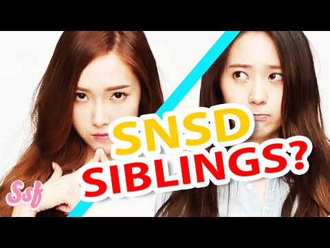 How Many SNSD Siblings Do YOU Know? (Girls' Generation) Video l @Soshified
