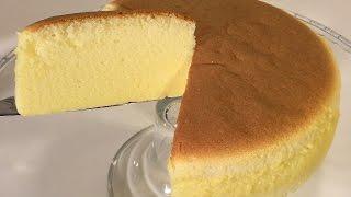 How To Make Cotton Cheesecake Japanese Food Recipes Asian Desserts-Sponge & Chiffon Cake