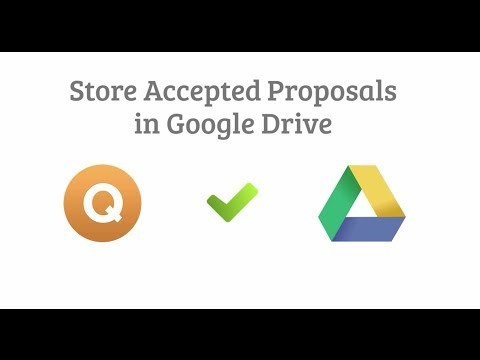 Quote Roller and Google Drive Integration Video