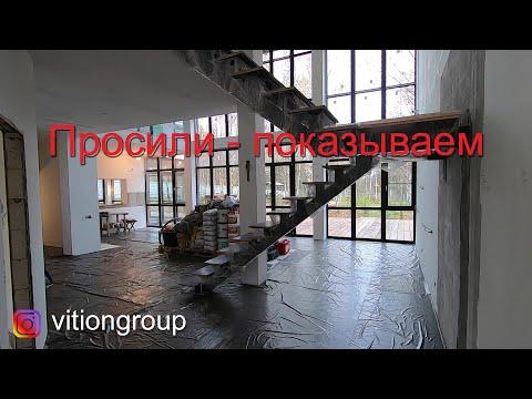 Просили - показываем. Отделка загородного дома внутри. Строительство дома. Ремонт и отделка в доме.
