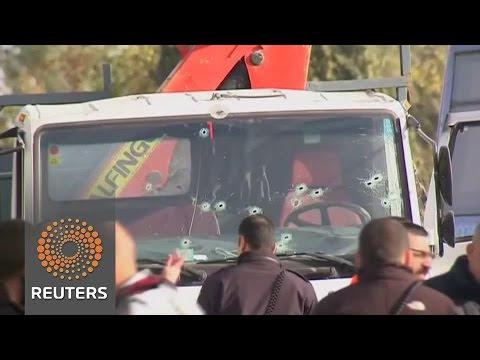 Jerusalem truck attack kills at least four