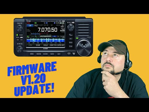 ICOM IC-705 Firmware v1.20 Update - Ham Radio