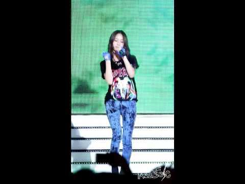 120808 f(x) Krystal Electric Shock  @ MBC Music Prime Concert