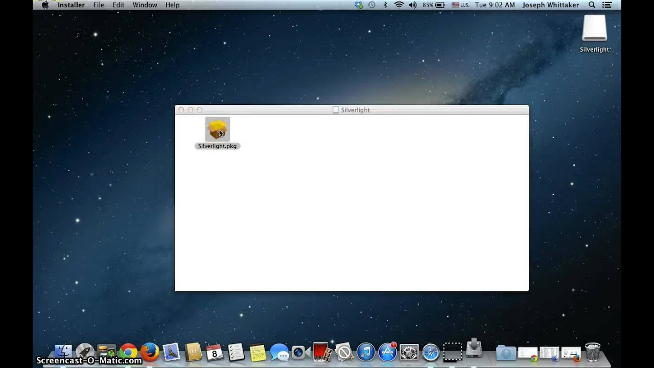 How to download and install Silverlight for Mac - YouTube