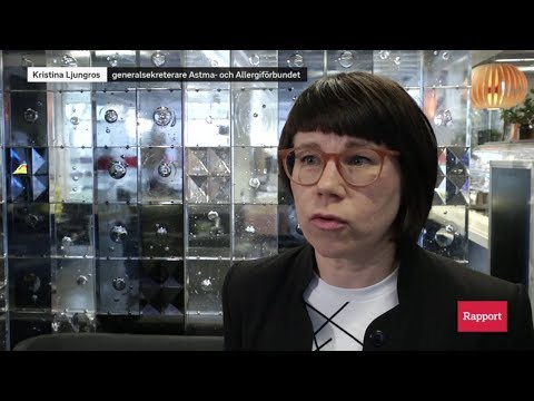 Generalsekreterare Kristina Ljungros på Rapport 20200310