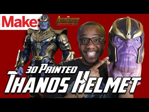 Painting and Weathering a Thanos Helmet with The Broken Nerd