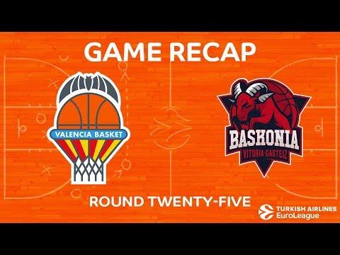 Valencia Basket vs Baskonia Vitoria Gasteiz