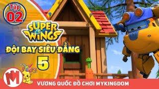 ĐỘI BAY SIÊU ĐẲNG - Phần 5 | Tập 2 : Ngôi nhà trên cây - - Phim hoạt hình Super Wings