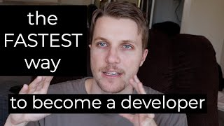 The FASTEST way to become a software developer in 2019
