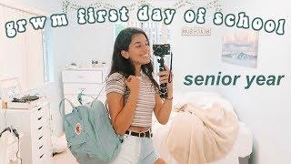 GRWM FIRST DAY OF HIGH SCHOOL (Senior Year)