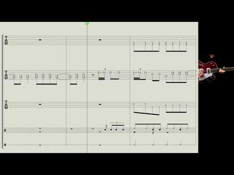 How to play : Roll Over Beethoven - The Beatles - guitar, bass, drums