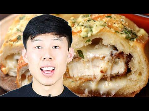 How To Make Alvin's Chicken Parmesan-Stuffed Garlic Bread ? Tasty
